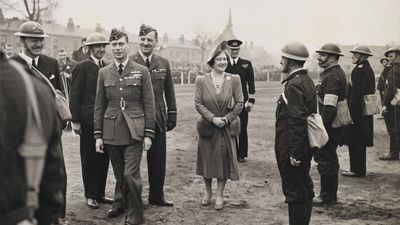 The Royal family in World War II