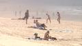 Gold Coast beach in heatwave.