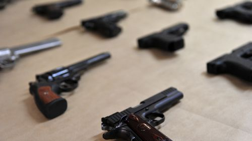The maximum penalty for certain infringements of gun laws has also increased. (AAP)