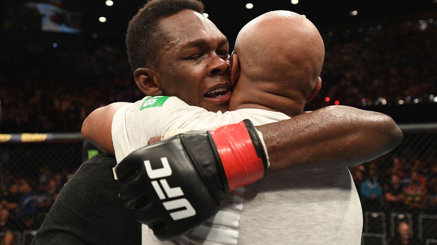 Israel Adesanya out swaggers UFC idol Anderson Silva