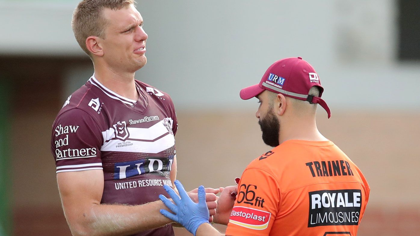 Tom Trbojevic says he'll be fit for NSW State of Origin team despite shoulder injury