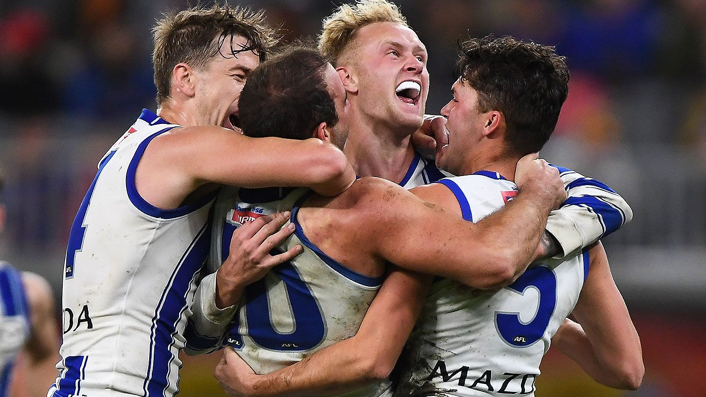 Jaidyn Stephenson's stunning career-best night sparks Kangaroos to shock Perth win over Eagles
