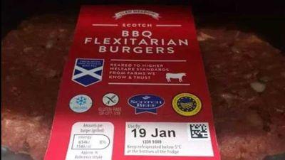 Vegan slams supermarket for flexitarian burger