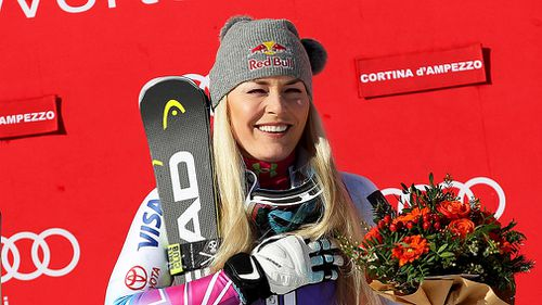 American Lindsey Vonn will look to continue her reputation as her country's most decorated alpine ski racer (AAP).
