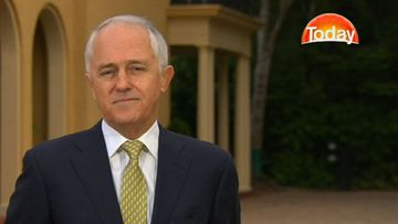 Malcolm Turnbull: PM under pressure. (9NEWS)