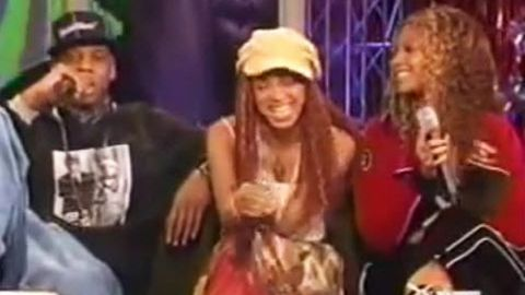 #ThrowbackThursday: Beyonce, Jay Z and Solange hug, laugh and talk sisterly rivalry in 2002 interview