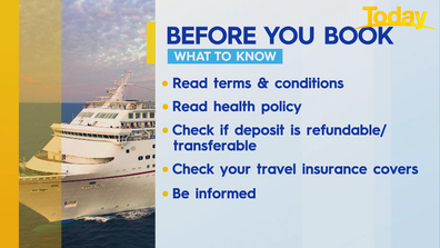 What to know before you book a cruise.