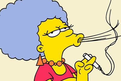 Smithers isn't the only gay character on <I>The Simpsons</I>. Marge's sister Patty famously stepped out of the closet in the 2005 episode 'There's Something About Marrying'.