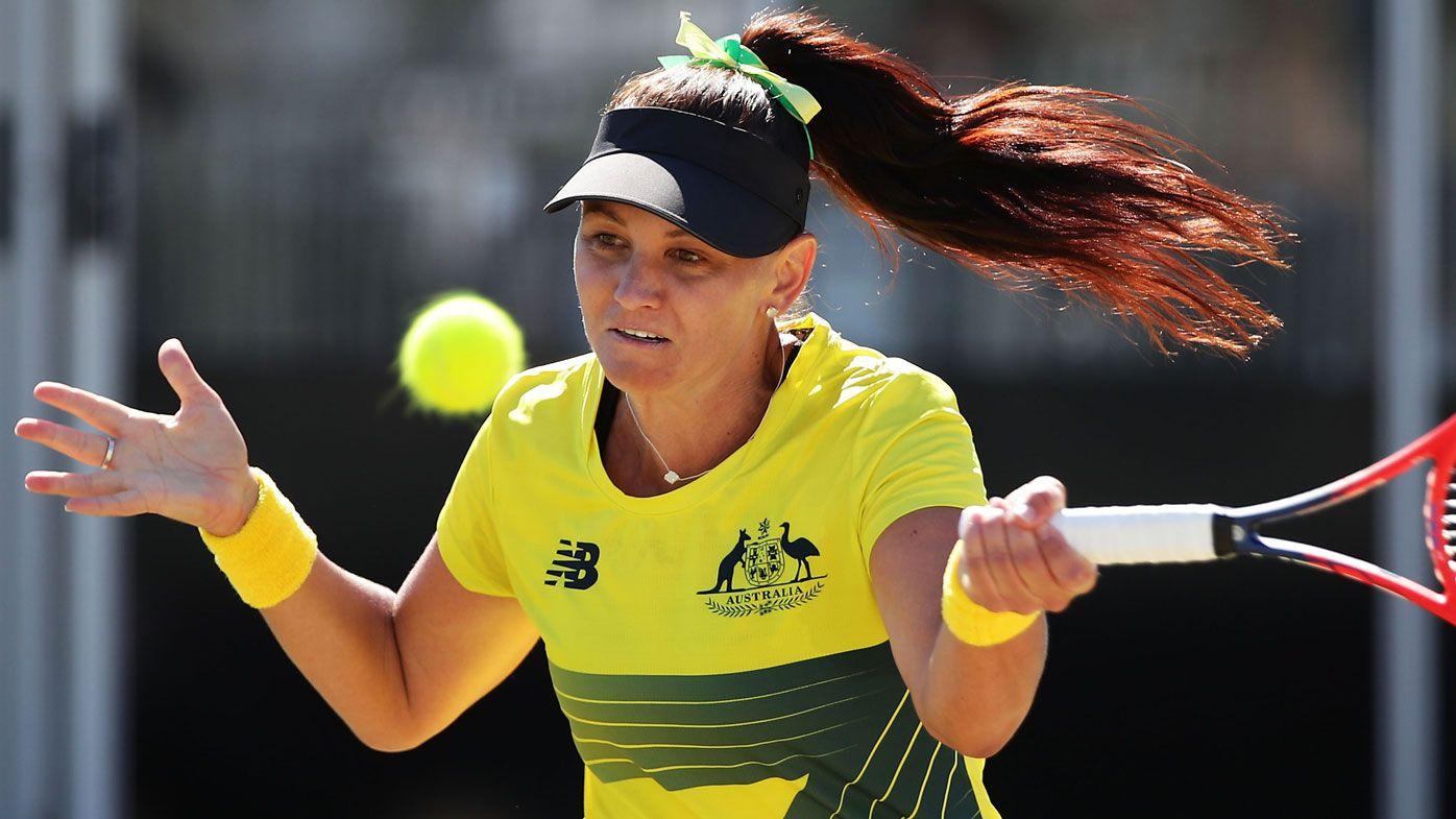 Casey Dellacqua retires from tennis