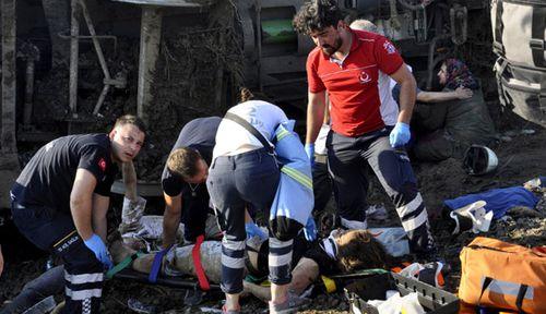 "A survivor described the incident as a ""horrible accident"". (AP)."
