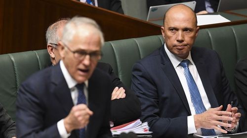 Peter Dutton orchestrated a party room coup against Malcolm Turnbull.
