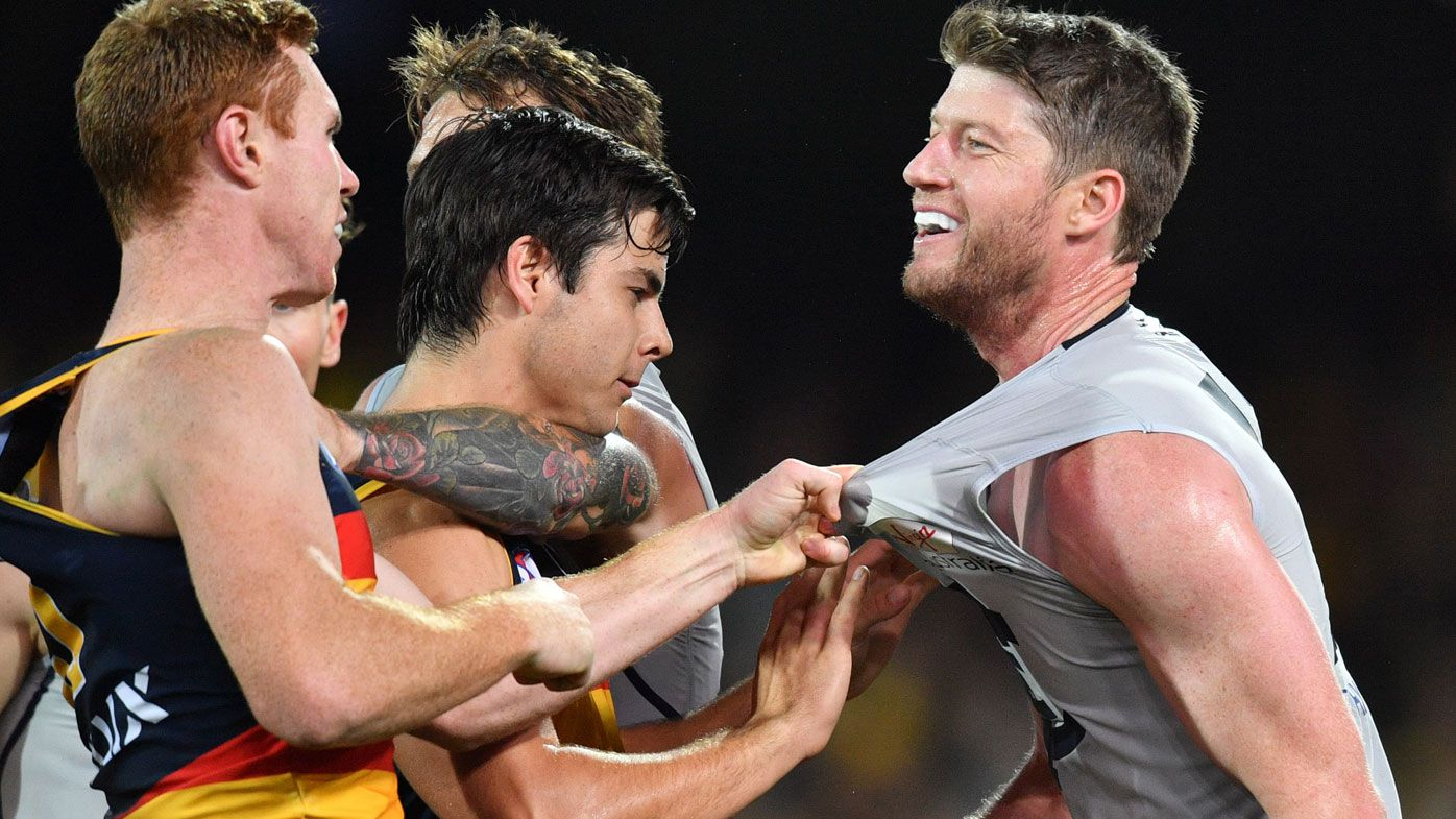 Crows defeat Blues but add to growing injury list