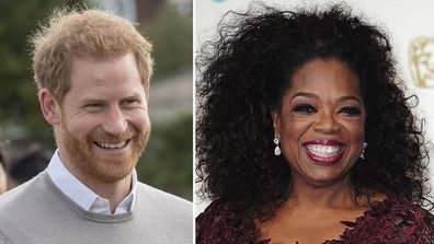 Prince Harry and Oprah Winfrey TV mental health series collaboration out in May