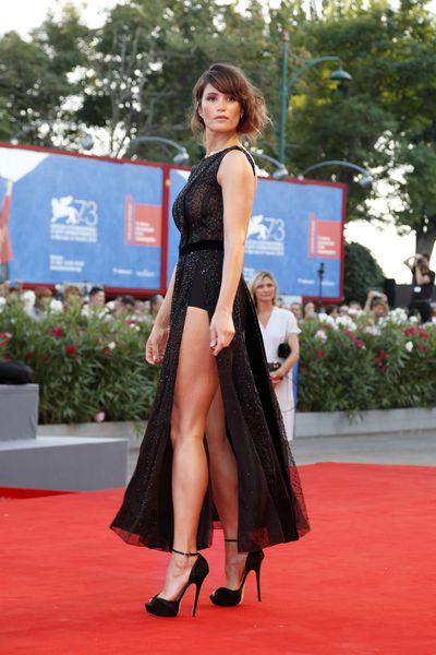 4. Gemma Arterton in Giorgio Armani