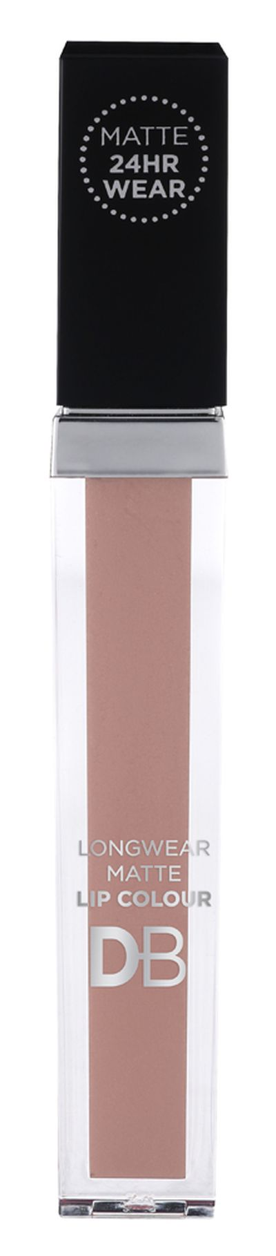 "<p><strong><a href=""https://www.dbcosmetics.com.au/matte-longwear-lip-gloss"" target=""_blank"" draggable=""false"">DB Longwear Lip Colour</a></strong>, $9.99</p> <p>""Dusty Nude is the best.""</p>"