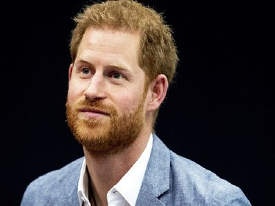 Prince Harry during the presentation of the Invictus Games The Hague 2020. In exactly one year the sports event for physically and mentally injured soldiers will be held in the Zuiderpark. In the Hague, the Netherlands, May 9, 2019. ANP POOL PATRICK VAN KATWIJK