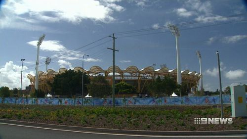 Carrara Stadium hosted the Opening and Closing ceremonies and the Athletics events for the Commonwealth Games. (9NEWS)