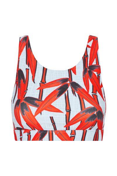 "<a href=""https://nimbleactivewear.com/?gclid=EAIaIQobChMI_Pivm_va1gIVSla9Ch1-pgCmEAAYASAAEgKAZPD_BwE"" target=""_blank"">Nimble Activewear Sprint on Sports Bra Abstract Red Bamboo, $69.</a>"