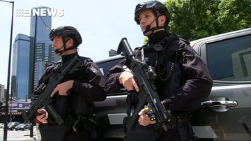 Victoria police have launched a new rapid response task force to target terrorism. (9NEWS)