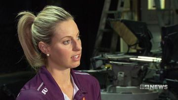 VIDEO: Sports star Laura Geitz reeling from shocking alleged invasion of privacy