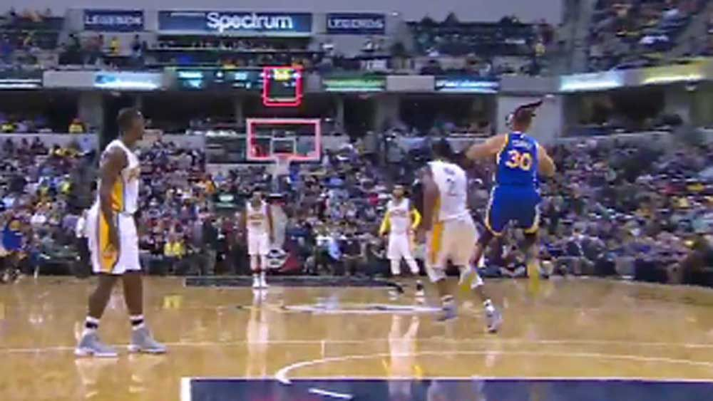 NBA: Curry not quick enough to beat the buzzer