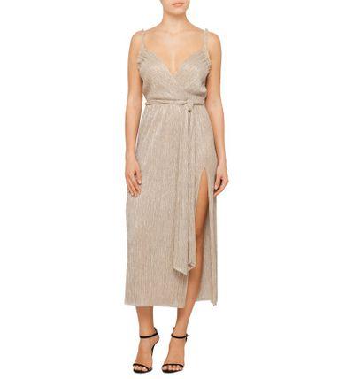 "Bec &amp; Bridge wrap dress, $250 at <a href=""http://shop.davidjones.com.au/djs/en/davidjones/camille-wrap-dress"" target=""_blank"">David Jones<br /> </a>"