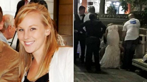 Newlywed nurse performs CPR while still wearing wedding dress
