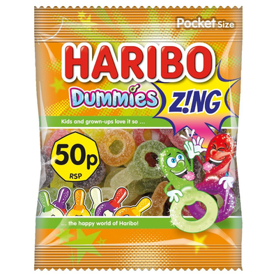 Haribo Dummies Zing lollies