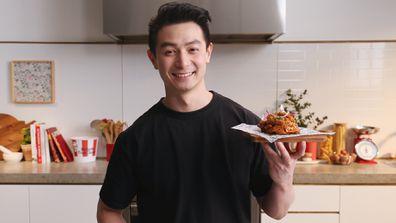 Reynold Poernomo's KFC chicken 'n croffle
