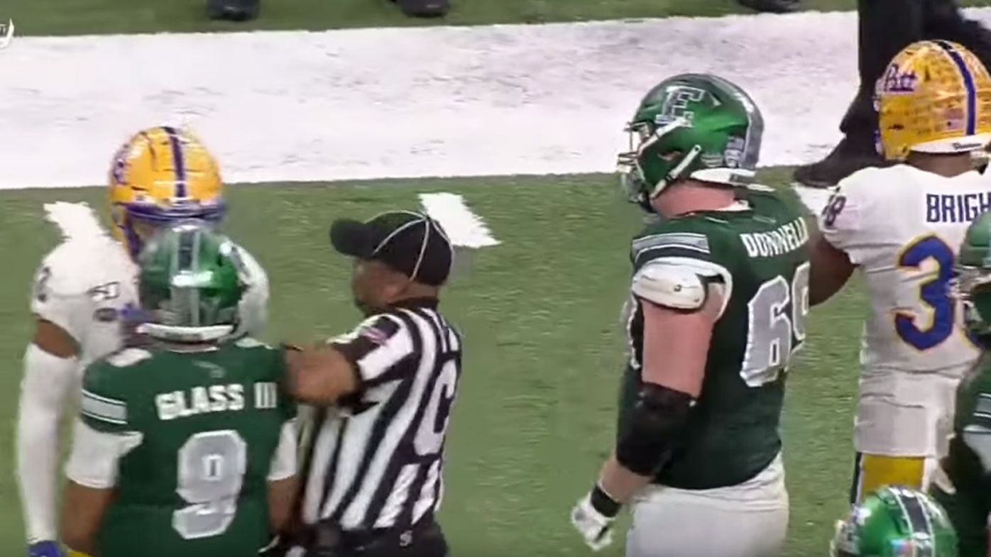 Eastern Michigan quarterback Mike Glass ejected for 'awful' outburst