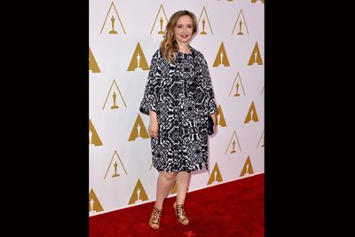 The multi-talented Julie Delpy is up for Best Adapted Screenplay for <i>Before Midnight</i>. <br/>