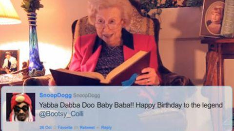 Watch: Hilarious grandma raps Snoop Dogg tweets