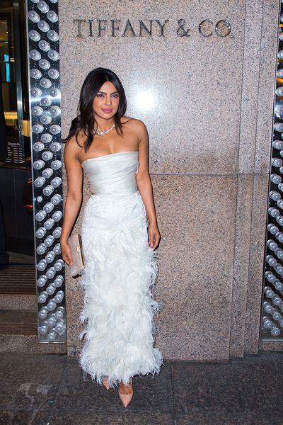 Priyanka Chopra's bridal shower at the Tiffany & Co Blue Box Cafe, New York, 28, October, 2018