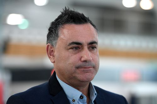 Acting Premier John Barilaro is calling on MP Daryl Maguire to quit parliament immediately. Picture: AAP