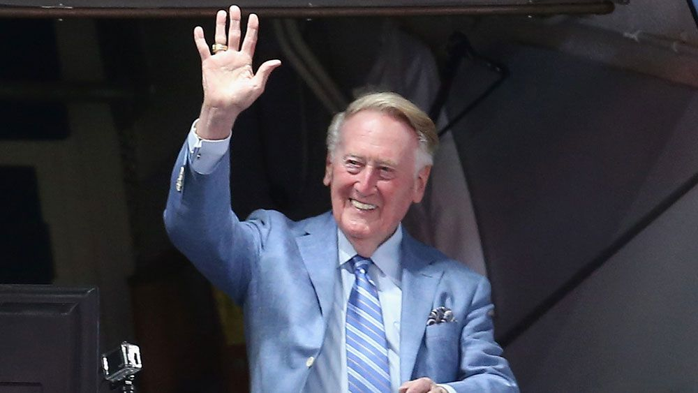Vin Scully ends 67-year broadcasting career with dramatic Dodgers victory
