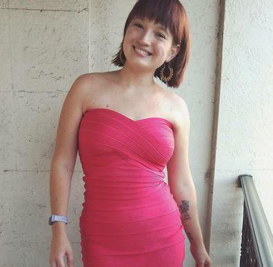 Maddie pink dress