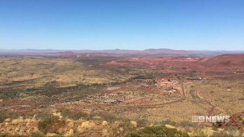 Mount Nameless is in WA's remote Pilbara region.