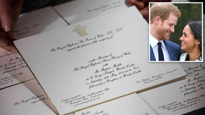 Who's made the cut to Meghan and Harry's big day?