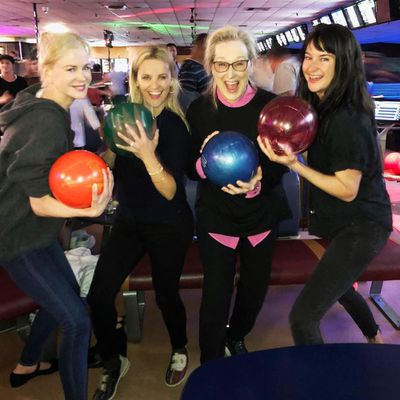 Nicole Kidman, Reese Witherspoon, Meryl Streep and Shailene Woodley