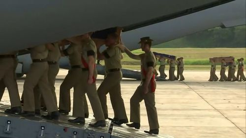 A RAAF C-17 Globemaster will bring the Australians home. (9NEWS)
