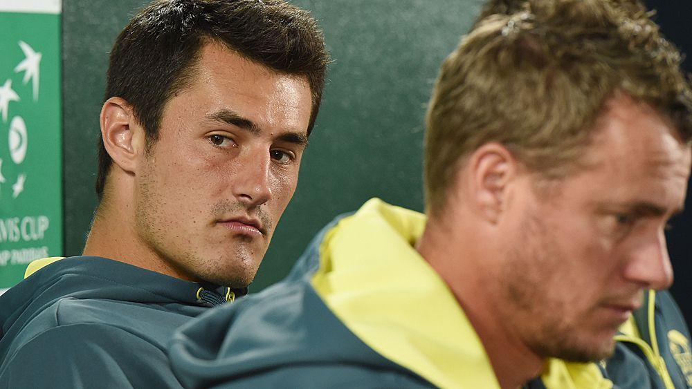 Tennis: Lleyton Hewitt says TA 'bent over backwards' for Bernard Tomic, but he must help himself