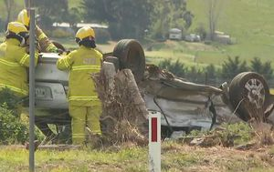 Man killed after truck and car collide in Victoria's west