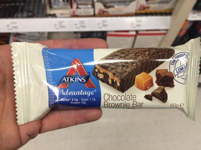 <strong>Atkins Advantage Chocolate Brownie Bar</strong>