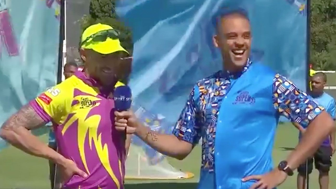 'In bed with my sister': Faf du Plessis stitches up teammate in cheeky interview