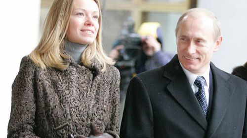 Vladimir Putin's daughter flees Dutch home amid MH17 outrage