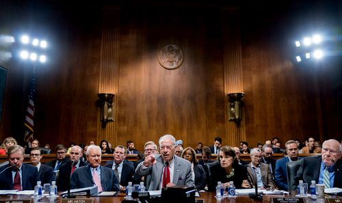 The Senate Judiciary Committee is due to vote this week on whether to recommend President Donald Trump's Supreme Court nominee, Brett Kavanaugh for confirmation.