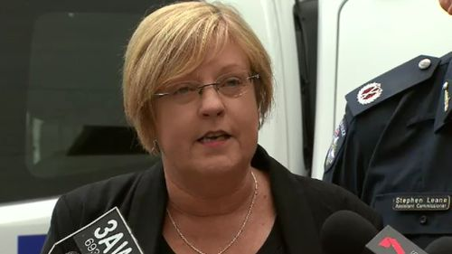 Police Minister Lisa Neville spoke about the new vehicles today. (9NEWS)