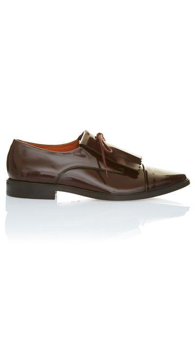 "<a href=""http://www.saba.com.au/maebel-fringe-shoe-9321143778825.html"" target=""_blank"">Maebel Fringe Shoe, $260, Saba</a>"