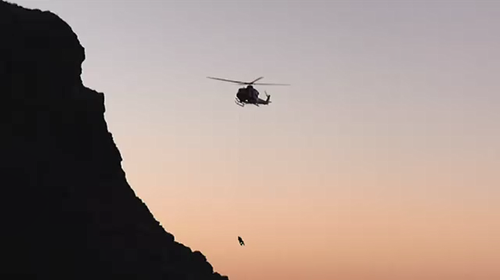Two separate groups ran into trouble when they became trapped on a cliff face in South Australia overnight.