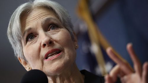 Green Party presidential nominee Jill Stein. (AFP)
